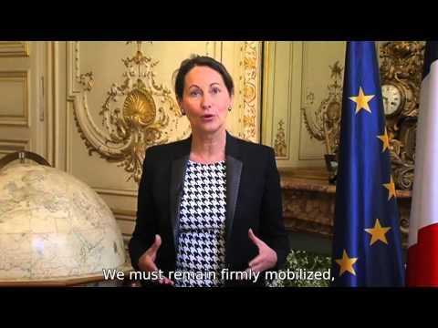 Ségolène Royal introduces Paris2015 - COP21/CMP11