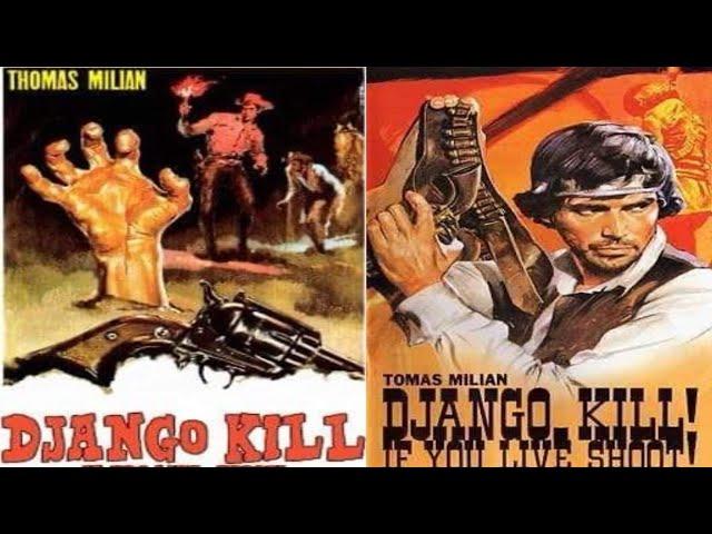 """فيلم الغرب الامريكي """" جانغو يقتل بلا رحمة """" 1967"""