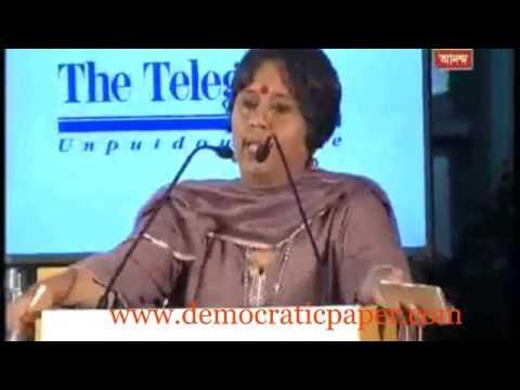 Anupam Kher vs Barkha Dutt ,The Telegraph National Debate 5th March 2016