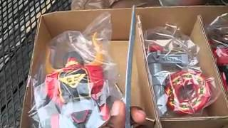 "Toys""R""Us Exclusive: DX Samurai Gigazord Set Review"