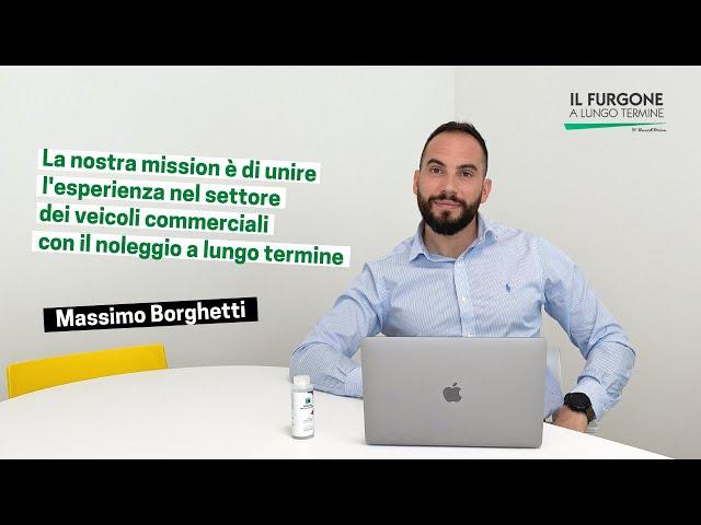 Massimo Borghetti Fondatore Il Furgone a Lungo Termine