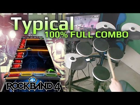 Mutemath - Typical 273k 100% FC (Expert Pro Drums RB4)