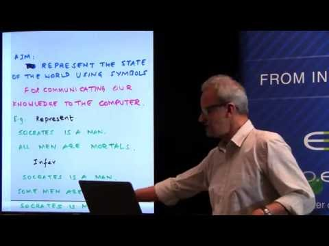Dr. T.K. Prasad: Gentle Introductions to First-order Logic Model Theory for Knowledge Representers