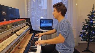 Ariana Grande thank u next Piano cover by Peter Buka