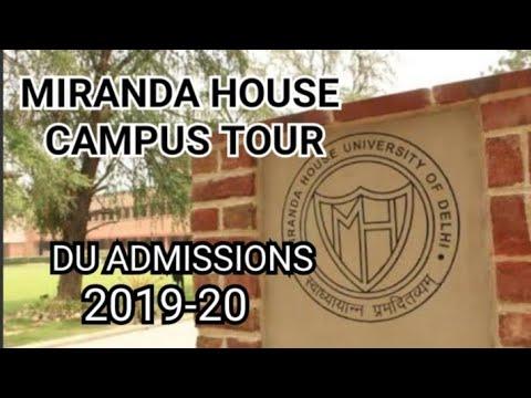 Miranda House: Delhi University |Admissions 2019-20