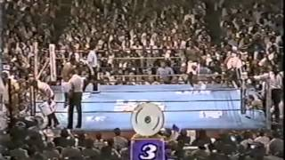 Larry Holmes vs Michael Spinks I