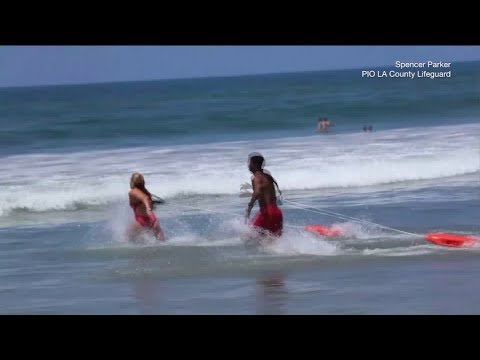 Water Rescues Spike Along SOCAL Beaches as Thousands Seek Cooler Coastal Temps