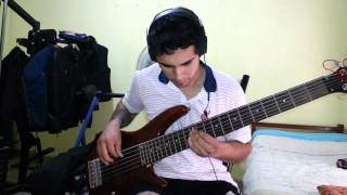 IRON MAIDEN - The Angel And The Gambler. Bass Cover by Samael.