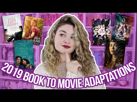 Book to Movie/TV Adaptations of 2019!