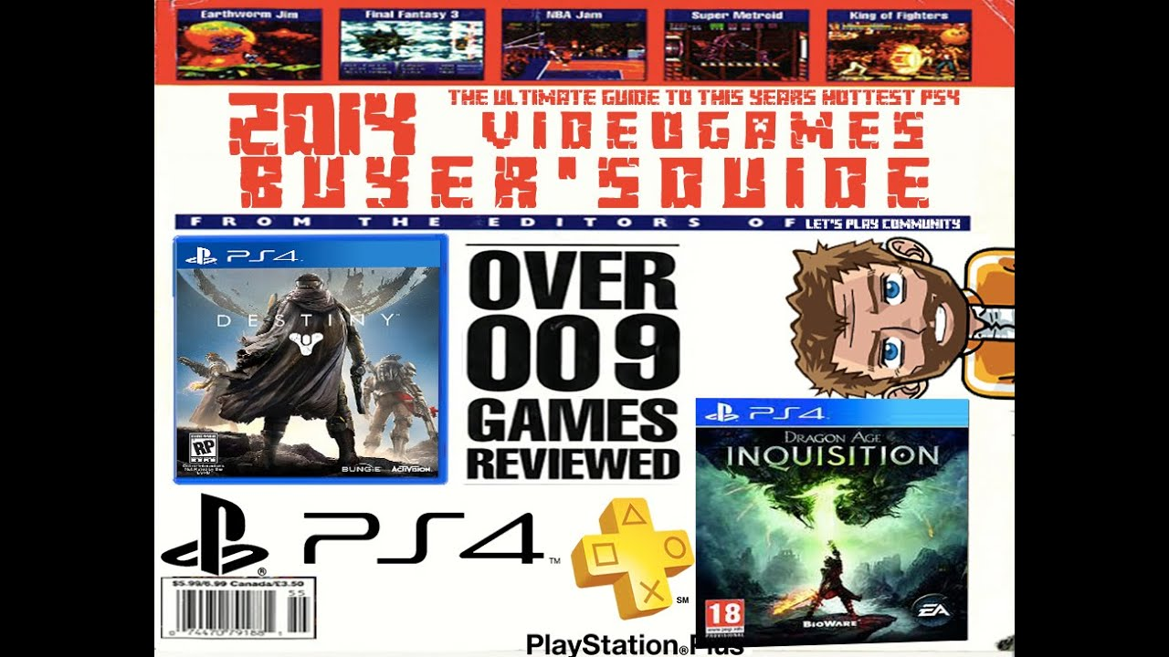 top 10 best worst ps4 games the games you should buy and avoid this holiday youtube. Black Bedroom Furniture Sets. Home Design Ideas