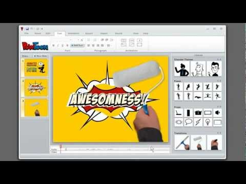 How to create animated presentations. Powtoon - The PowerPoi