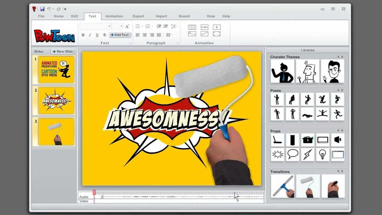 How To Create Animated Presentations. Powtoon - The Powerpoint Alternative  - Youtube