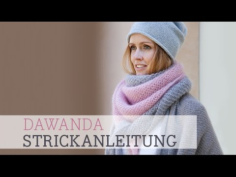 Dawanda Strickanleitung Easy Dreieckstuch Youtube