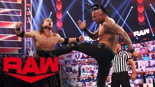 Damian Priest vs. John Morrison: Raw, May 3, 2021