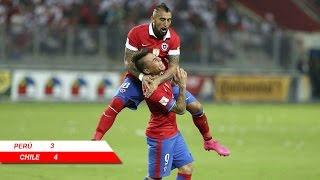 Perú 3 - 4 Chile | Eliminatorias Rusia 2018 | Claudio Palma