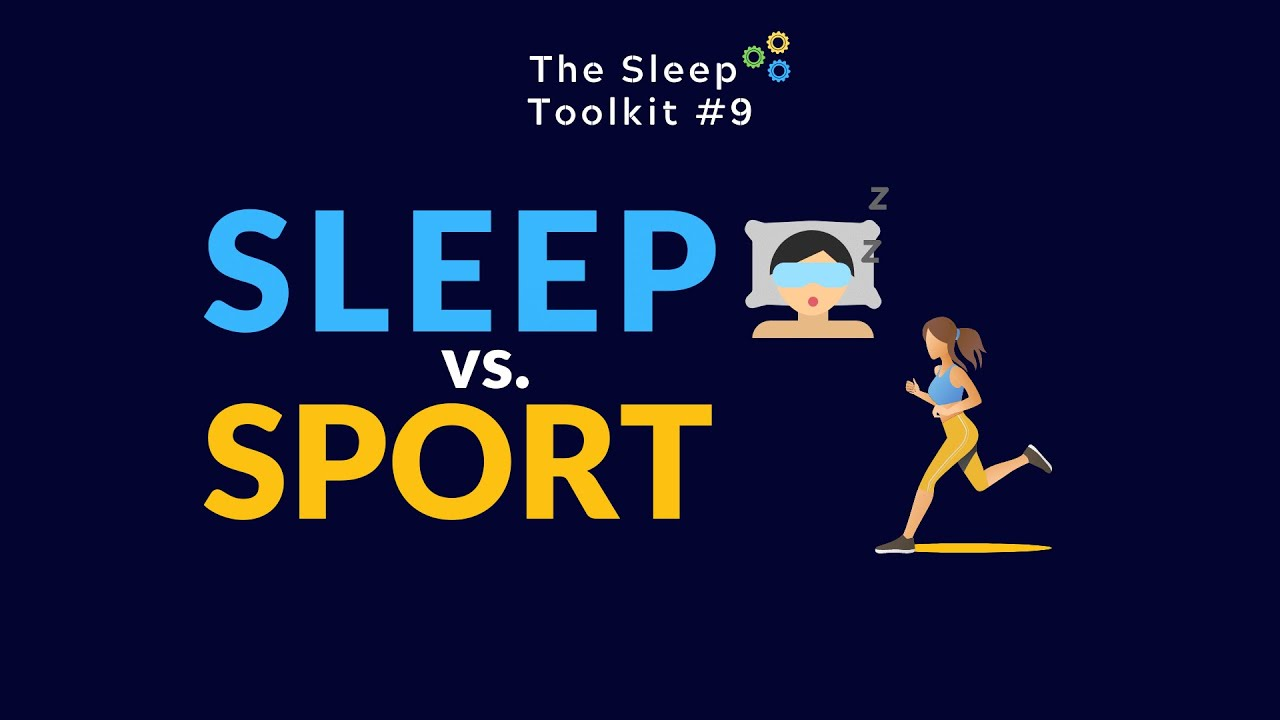 Sleep vs. Sport: Who wins?