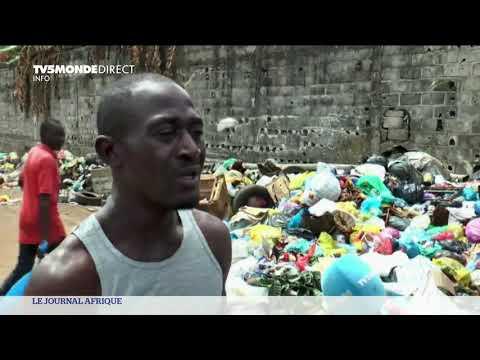 Gabon: les ordures partout dans Libreville