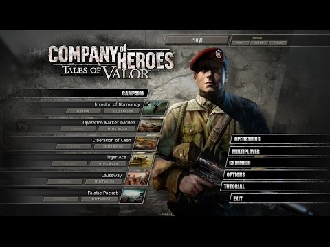 Moraxis Plays Company Of Heroes Ep1 Omaha Beach and Veievile
