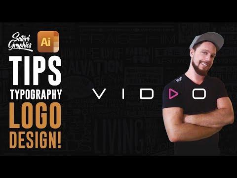 TYPOGRAPHIC LOGO DESIGN TOP TIPS (Essentials) | Satori Graphics