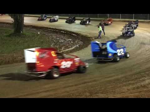 Shellhammers Speedway Senior Slinghot Feature Race -- 9-22-2018