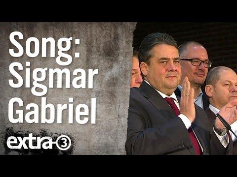 Song: Sigmar Gabriel - dich wird keiner wählen | extra 3 | NDR