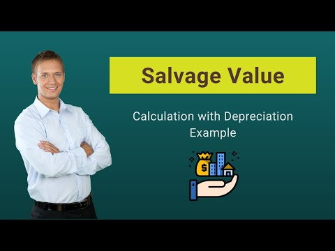 Salvage Value (Scrap Value) | Calculation With Example