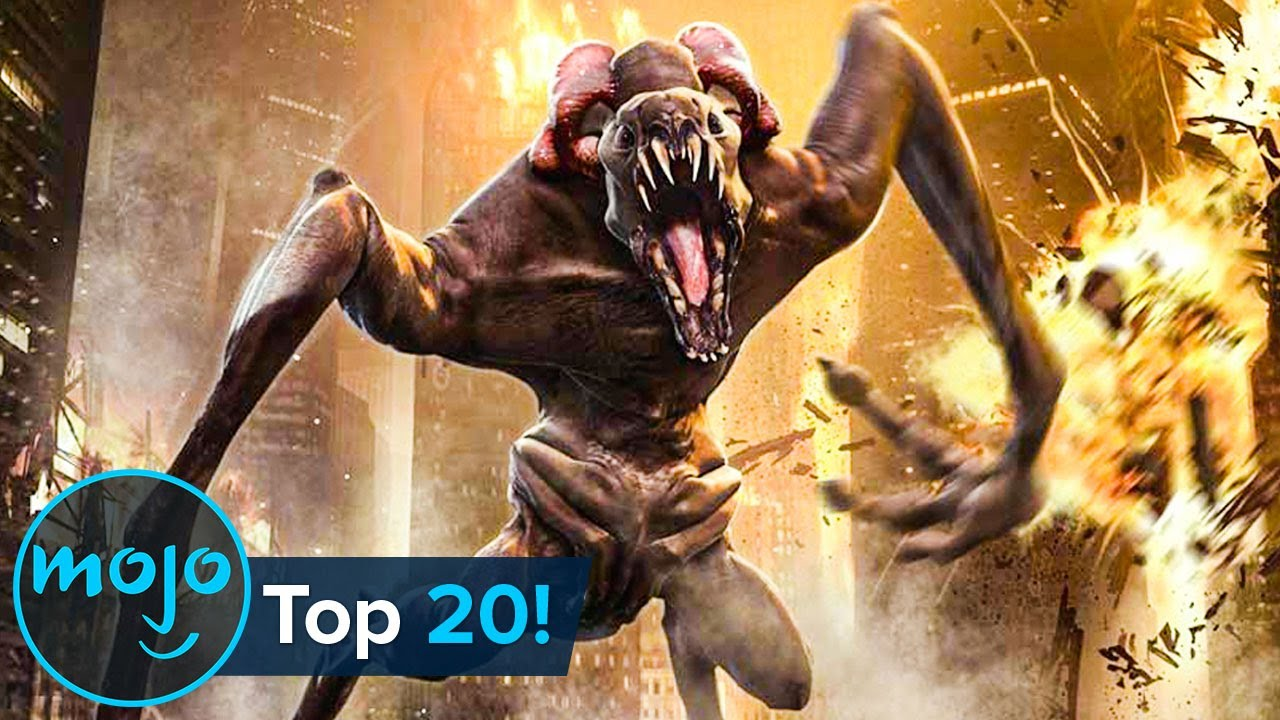 Top 20 Greatest Giant Movie Monsters