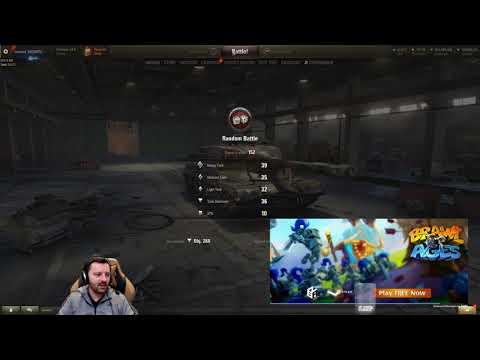 World of Tanks - WOT 1.0 Test Server Footage