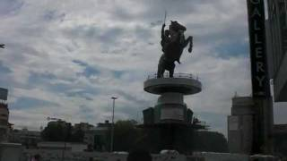 TaXalia:Statue of the Greek Macedonian King Alexander the Great in Skopje