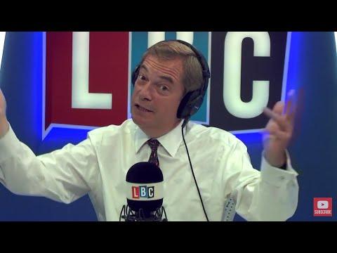 The Nigel Farage Show: legal jurisdiction over the UK after Brexit? Live LBC - 12th July 2017