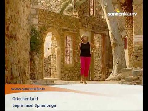 Lepra Insel Spinalonga Reise - Hotel & Urlaub Video Griechenland & Griechische Inseln: Kreta
