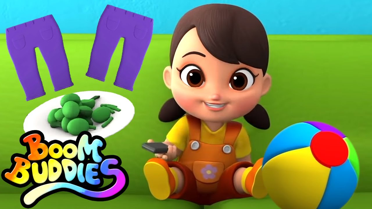 No quiero | Canciones infantiles | Videos preescolares | Boom Buddies Español | Dibujos animados