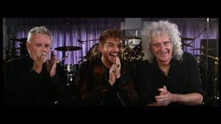 Queen + Adam Lambert Reminisce About Freddie Mercury - TVNZ News