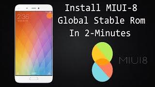 Install MIUI-8 Global Stable Rom ( Mi Max, Mi Note, Mi4i, Redmi 1s, Redmi Note 4G/3G, Redmi 2)