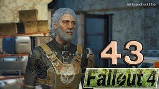 Fallout 4 PS4 Прохождение 43 Разведбункер Тэта и паладин Брэндис, карьер Тикет