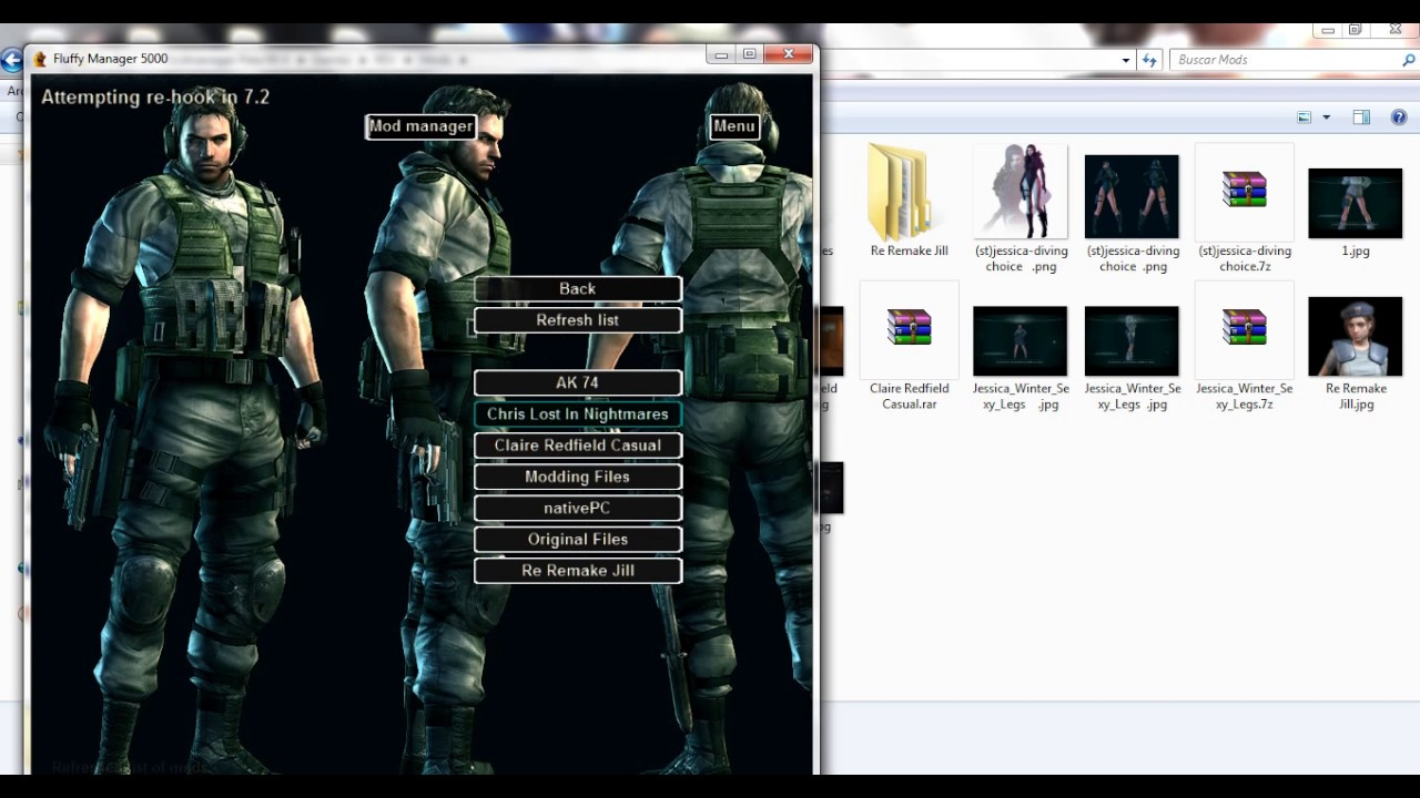 Resident Evil Revelation 1 - Modmanager