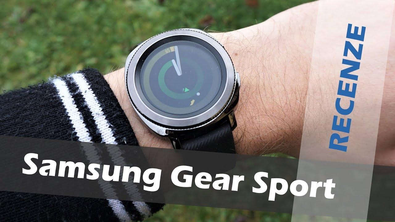 dd5ebd0e433 Samsung Gear Sport  recenze - YouTube