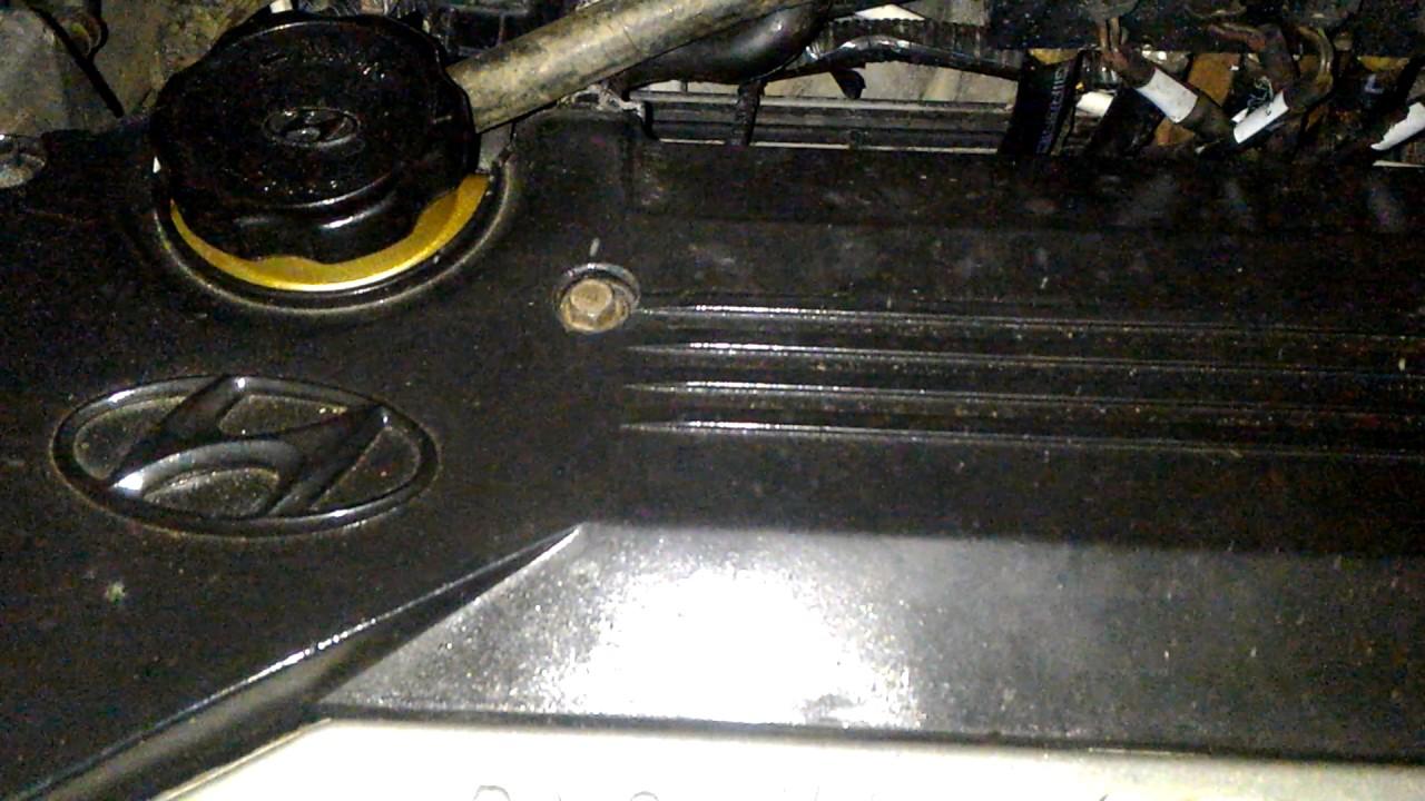 стук при прогретом двигателе hyundai sonata