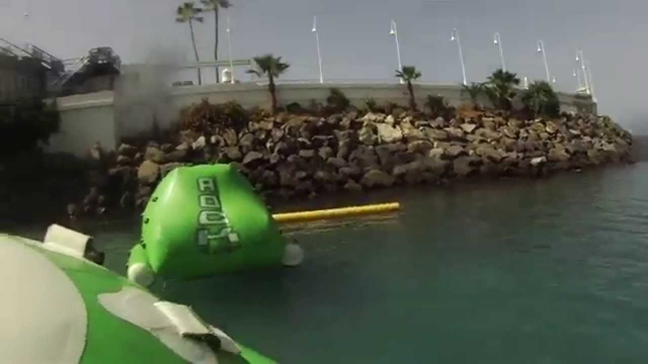 Circuito Wipeout : Total wipeout tenerife youtube