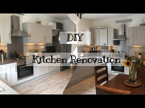 DIY Kitchen Makeover | Budget Kitchen Renovation | Part Two