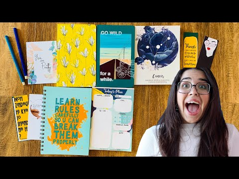 First *STATIONERY HAUL* of 2020!!! I try a new brand from Instagram | #HeliHauls | Heli Ved from YouTube · Duration:  9 minutes 4 seconds
