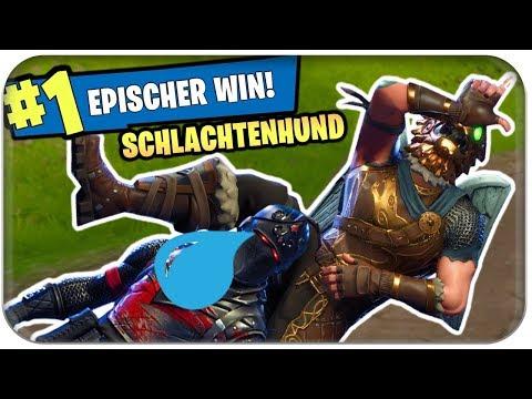 SCHLACHTENHUND 🐶 NEUER LEGENDÄRER SKIN NEUER WIN   Fortnite Battle Hound Deutsch German