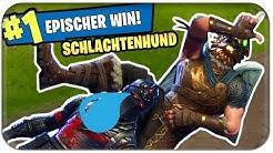 SCHLACHTENHUND 🐶 NEUER LEGENDÄRER SKIN NEUER WIN | Fortnite Battle Hound Deutsch German