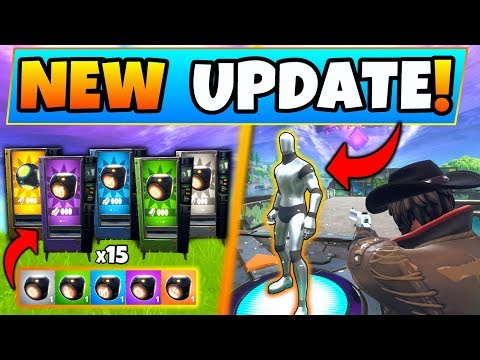 Fortnite Update: 15 *NEW* SECRET MINI-GAMES/CHALLENGES! + Port a Pirate Ship in Battle Royale