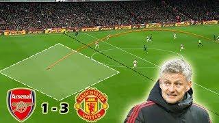Ole Gunnar Solskjær's Tactical Brilliance | Arsenal vs Man United 1-3 | Tactical Analysis
