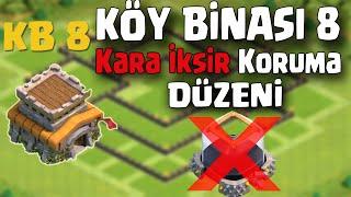 KB. 8 SAĞLAM Kara İksir Koruma Düzeni - Clash of Clans