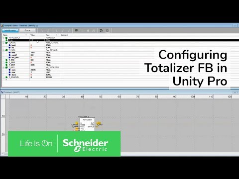 Video: How to set up Totalizer FB for Unity Pro V13?