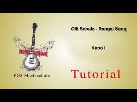Olli Schulz/Circus HalliGalli - Rangel Song Guitar Lesson/Tutorial/Chords