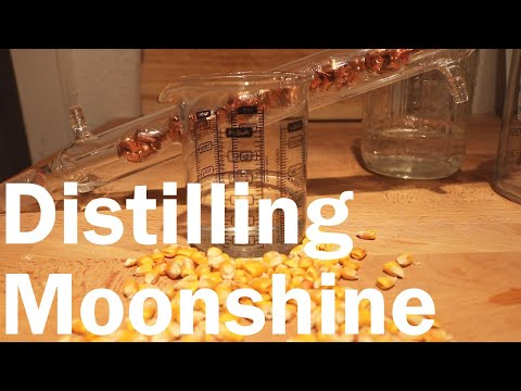 How to Make Moonshine Part 2: Distilling Alchohol