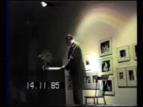 Doug Christie Speaks at Open Space Victoria BC Nov 14 1985
